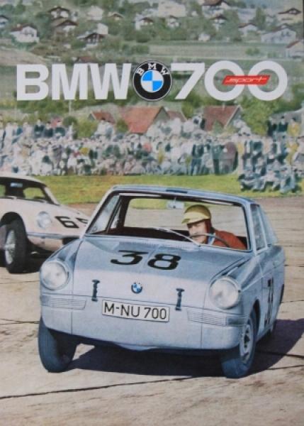 BMW 700 Sport 1961 Automobilprospekt