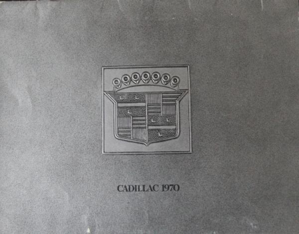 Cadillac Modellprogramm 1970 Automobilprospekt