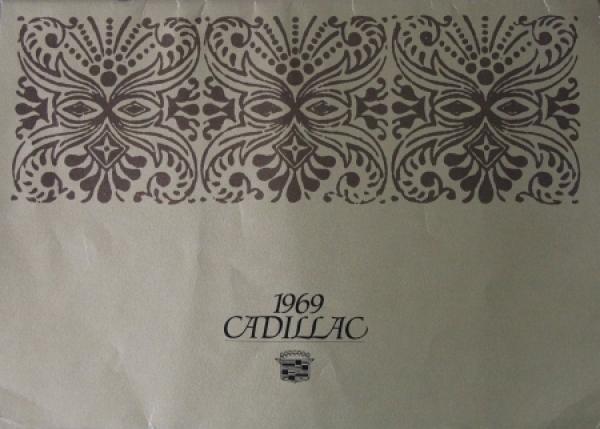 Cadillac Modellprogramm 1969 Automobilprospekt