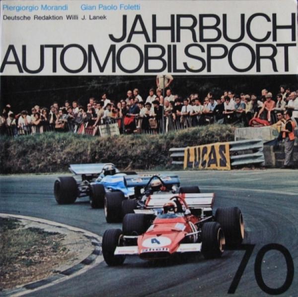 "Morandi ""Jahrbuch Automobilsport 70"" Motorrennsport-Saison 1970"