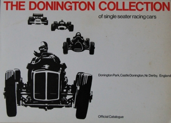 """The Doninton Collection of Racing Cars"" Motorsportkatalog 1978"