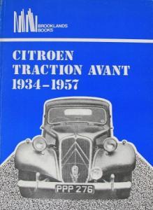 "Brookland ""Citroen Traction Avant 1934-1957"" Citroen-Fahrzeug-Historie 1970"