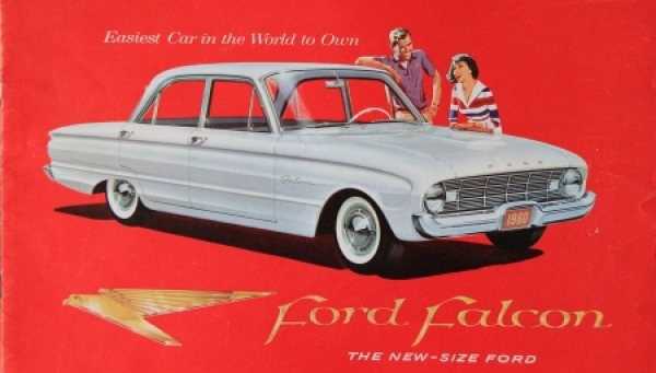 "Ford Falcon ""The new size Ford"" 1959 Automobilprospekt"