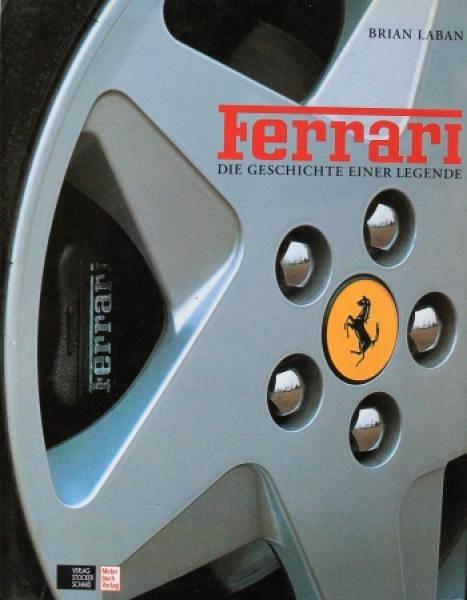 """Laban """"Ferrari - Die Geschichte einer Legende"""" Ferrari-Historie 1992"""