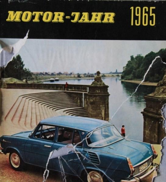 """""""Motor Jahr 1965 - Eine internationale Revue"""" Automobil-Jahrbuch"""