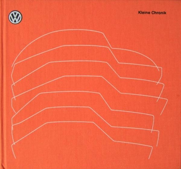"""Volkswagen """"Kleine Chronik"""" VW-Historie 1979"""