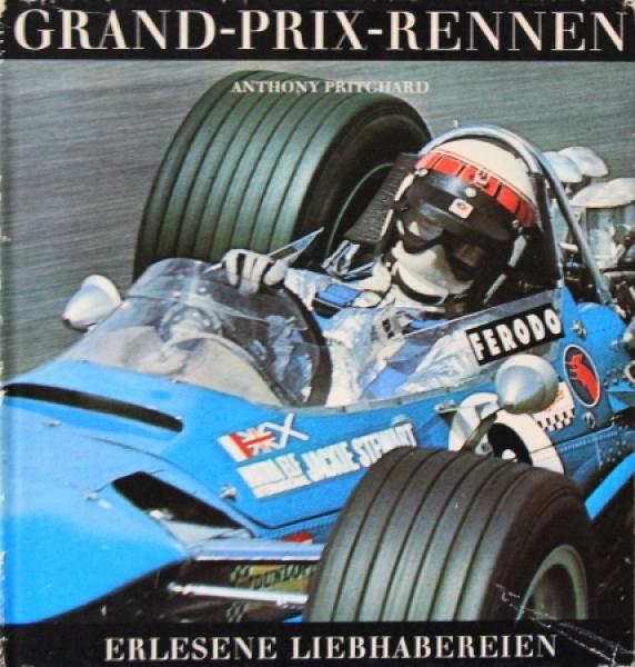 """Pritchard """"Grand Prix Rennen 1950-1970"""" Motorsport-Historie 1971"""