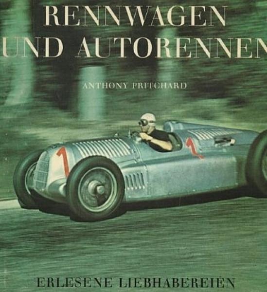 """Pritchard """"Rennwagen und Autorennen"""" Motorsport 1970"""