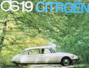 Citroen DS 19 Modellprogramm 1963 Automobilprospekt