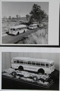 Büssing-NAG Bus Typ 5000 T mit U9 Motor 2 Werksphotos 1951