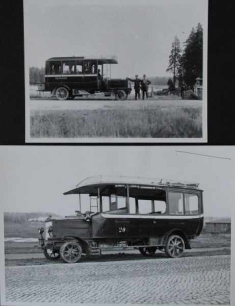 Büssing-NAG Bus am St. Andreasberg im Harz 2 Werks-Photo 1919