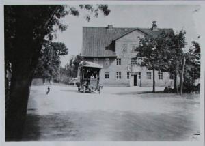 Büssing-NAG Bus am Auerhahn im Harz Werks-Photo 1913