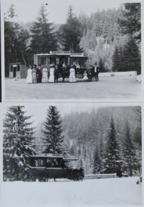 Büssing-NAG Bus im Harz 2 Werks-Photos 1910