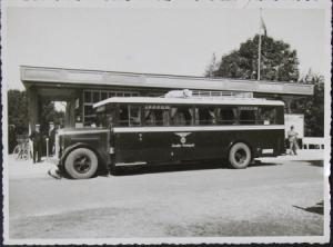"""Henschel Typ 4D4 Diesel 100 PS """"Deutsche Reichspost"""" Originalphoto 1937"""