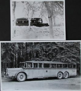 Büssing Bus Typ VI GLN 110 PS 2 Werksfotos 1926