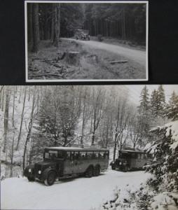 Büssing-NAG Busse auf Reisen 2 Originalphotos 1928