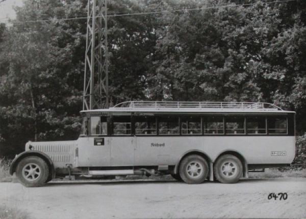 Büssing-NAG Typ VI GLN 110 PS Benziner Werksfoto 1926