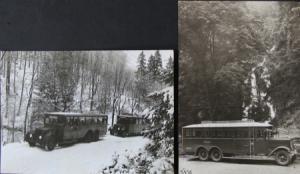 Büssing-NAG Bus auf Reisen im Harz 2 Werksphotos 1925