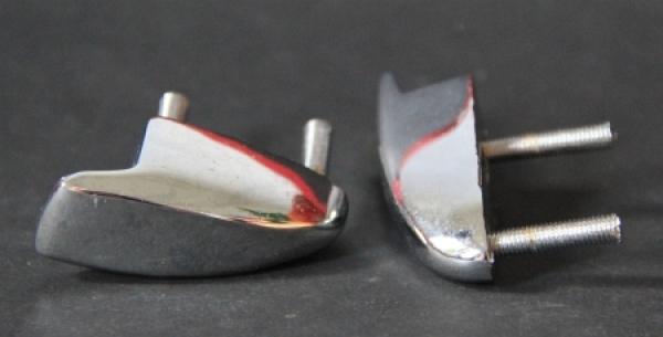 Cabrio Verdeckhalterungen verchromt 1970