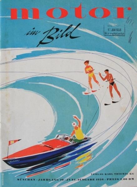 """Motor im Bild"" Automobil-Magazin 1956"