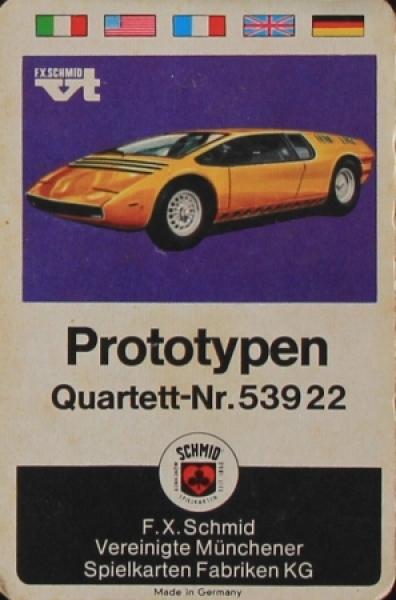"""Schmid Spielkarten """"Prototypen"""" Kartenspiel 1970"""