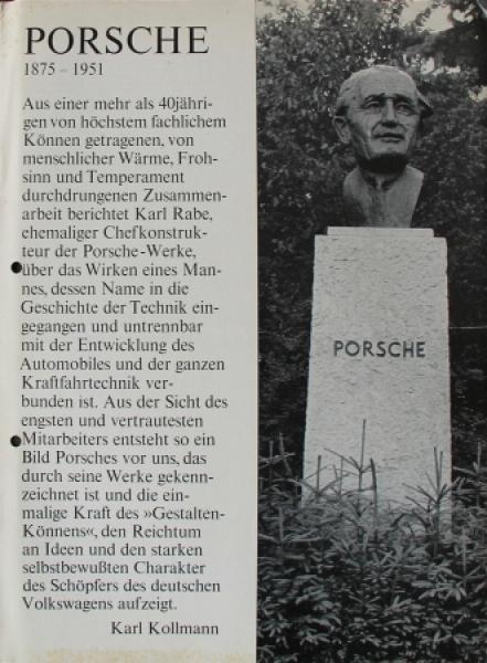 """Porsche Sonderdruck aus """"Automobil-Industrie"""" 1963 Automobilprospekt"""