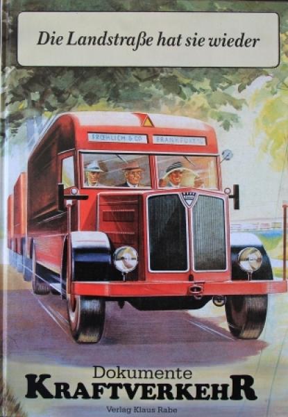 """Rabe """"Die Landstraße hat sie wieder - Dokumente Kraftverkehr"""" Lastwagen-Historie 1988"""