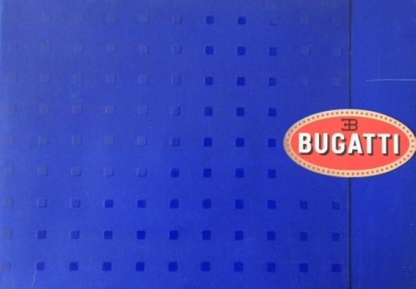 Bugatti Veyron 16.4 Pressemappe 2003 Automobilprospekt