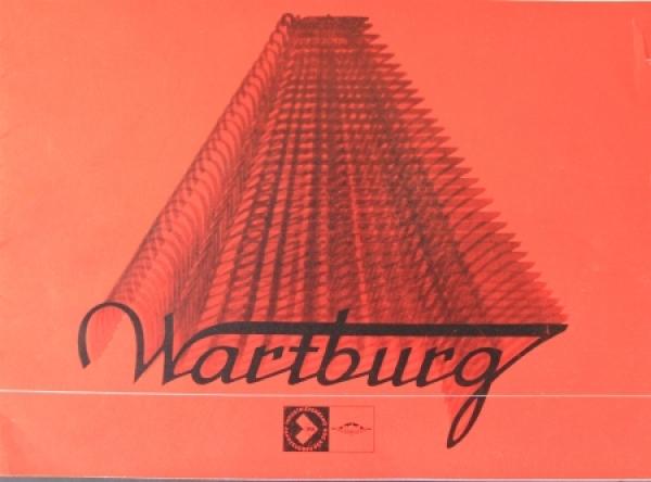 Wartburg 353 Modellprogramm 1973 Automobilprospekt