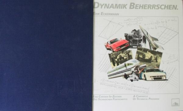 """Eckermann """"Dynamik beherrschen - Alfred Teves GmbH"""" Firmenchronik 1989"""