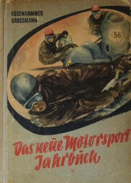 """Rosenhammer """"Das neue Motorsport Jahrbuch"""" Motorsport -Saison 1956"""