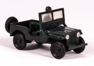 Siku Willys Jeep Militär V92 Plastikmodell 1958