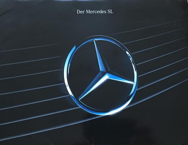 Mercedes Benz SL R 129 Automobilprospekt-Mappe 1992