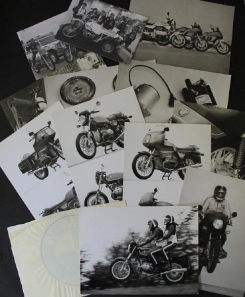 BMW Motorrad K und R-Reihe 18 Original-Werksphotos 1979