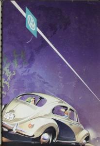 Volkswagen Käfer Modellprogramm 1958 Reuters Automobilprospekt