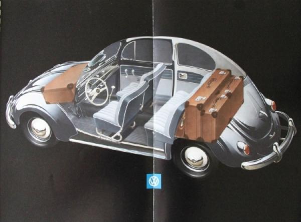 Volkswagen Käfer Modellprogramm 1958 Reuters Automobilprospekt 3
