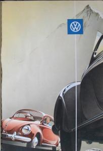 Volkswagen Käfer Modellprogramm 1956 Reuters Automobilprospekt