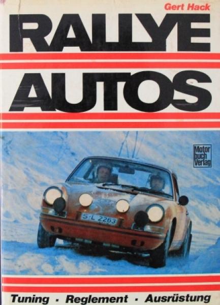 """Hack """"Rallye Autos - Tuning, Ausrüstung"""" Motorsport 1969"""
