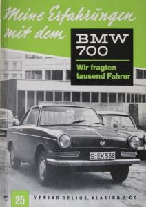 """Hansen """"Meine Erfahrungen mit dem BMW 700"""" Fahrzeugtechnik 1961"""