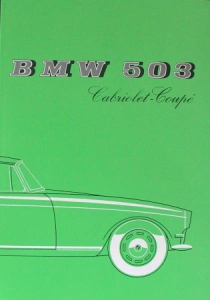BMW 503 Cabriolet-Coupe 1958 Automobilprospekt