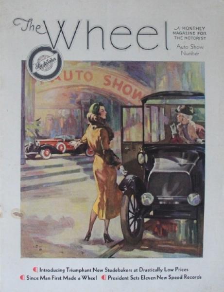 "Studebaker ""The Wheel"" 1932 Automobilprospekt"