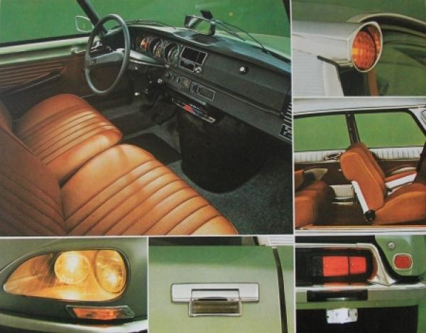 Citroen DS Modellprogramm 1973 Automobilprospekt 2