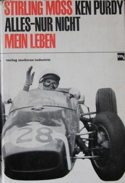 """Purdy """"Alles nur nicht mein Leben"""" Rennfahrer-Biographie 1965"""