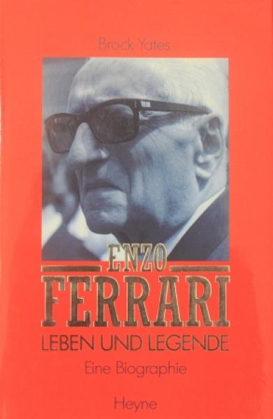 """Yates """"Enzo Ferrari - Leben und Legende"""" Ferrari-Biographie 1992"""
