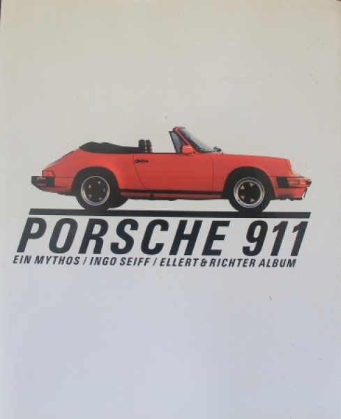 """Seiff """"Porsche 911 - Ein Mythos"""" Porsche-Historie 1988"""