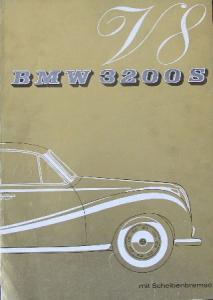 BMW 3200 S 1962 Automobilprospekt
