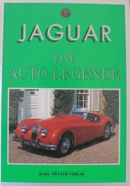 "Wright ""Jaguar - Eine Autolegende"" Jaguar-Historie 1991"
