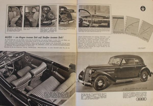 """Auto-Union """"Die Vier Ringe"""" Firmen-Magazin 1939 1"""