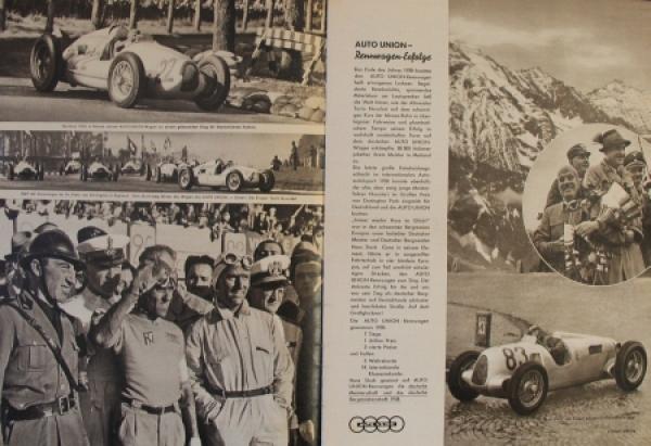"""Auto-Union """"Die Vier Ringe"""" Firmen-Magazin 1939 2"""