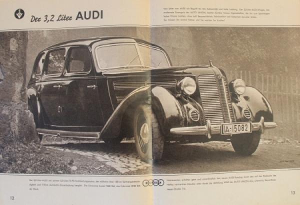 """Auto-Union """"Die Vier Ringe"""" Firmen-Magazin 1939 3"""